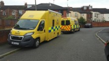 Wirral Local Policing team in Tranmere today to carry out warrant and speak to the community
