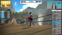 Zwifts virtuella löparvärld tar inomhusträningen till en ny nivå