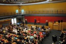Över 1100 besökte nytt psykiatrihus