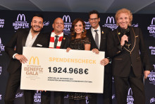 McDonald's erzielt Rekordsumme mit seinen Tätigkeiten rund um die Benefiz Gala