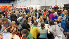 Utställning och ny läsning på Sy- och Hantverksfestivalen!
