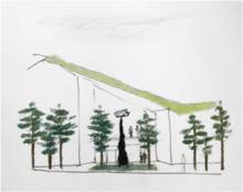 Konsten som kommer att utsmycka Hälsocentrum Lindesberg