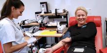 Tiohundra levererar nya blodgivare
