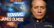 FedCon 2018: Hollywood-Star Edward James Olmos aus Battlestar Galactica zu Gast in Bonn!
