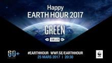Max halverar priset på gröna burgare under Earth Hour
