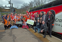 Charity rail tour raises over £50,000 for Railway Children
