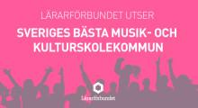 Lindesberg klättrar på listan för bästa kulturskolekommun
