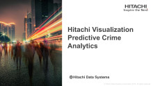 Hitachi Visualization Predictive Crime Analytics