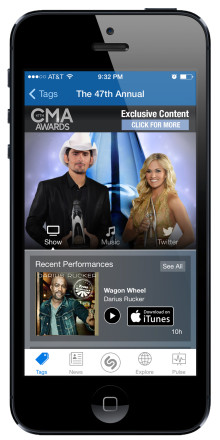 Shazam Drives Ratings and Engagement for a Huge CMA Success on ABC