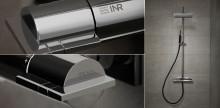 INR lanserar exklusiva takduschen EASE – steg två i blandarsamarbetet med Mora.