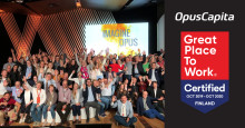 OpusCapita became Great Place to Work® Certified