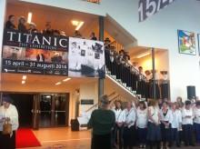 Titanic The Exhibition har öppnat i Halmstad