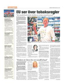 EU ser over tobakksregler