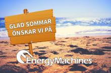 Vi på Energy Machines önskar alla en glad och energirik sommar!