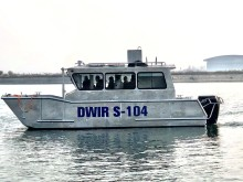 Saltwater Commercial Boats 8.0m Survey barge with OXE 200 to the government of Myanmar.