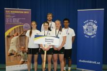 Brons till Stockholms universitet i Student-EM i badminton