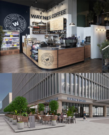 Wayne's Coffee opens café in Vietnam