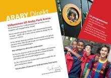 Pressinbjudan: Direktmöte på Araby