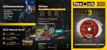 Flexovit MaXX 3 navrondeller - Broschyr