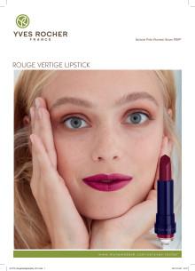 Rouge Vertige Lipstick produktinformation