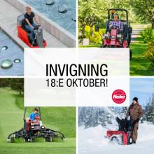 Invigning i Brunna 18:e oktober