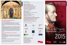 Programmflyer Richard-Wagner-Festtage 2015