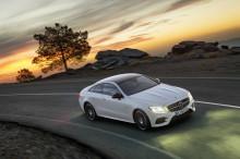 Ny E-Klasse coupé offentliggjort