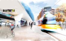 Nya Sverigebygget kan underlätta utbyggnad av moderna spårvagnslinjer