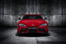 Världspremiär för nya Toyota GR Supra på bilsalongen i Detroit