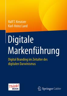 Neues Marketing-Fachbuch: Digitale Markenführung in Zeiten des digitalen Darwinismus