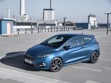 Nya Ford Fiesta ST presenteras vid internationella motormässan i Geneve