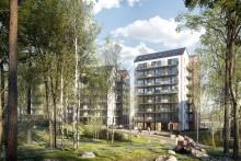 TB-Gruppen säljstartar Brf Götaporten, 95 lägenheter med balkong i västerläge på Guldmyntsgatan i Göteborg