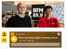 Dealing with questions about your financials: Axiata Digital Service CEO shows the way