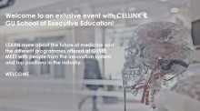 Welcome to an exclusive event with CELLINK & GU School of Executive Education!