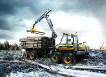 Världspremiär på SkogsElmia för 20-tonnare från Ponsse