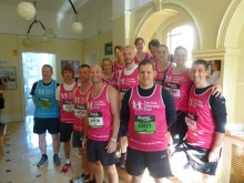 Team SCT pound the pavements and raise an incredible £24,000