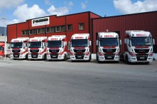 Seks MAN TGX til H.K. Solberg Transport AS