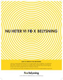 Fox Belysning är det nya namnet