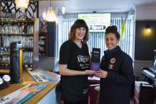 Gallery owner turned licensee puts women in the picture at her Suffolk pub