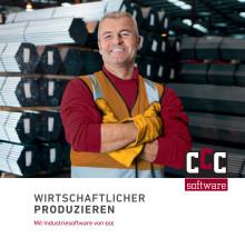 Wirtschaftlicher Produzieren - Unternehmensbroschüre der ccc software gmbh