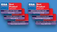 Sony multiplica su éxito por siete en los EISA 2018