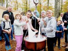 Rekord med Sveriges största slime i Skånes Djurpark