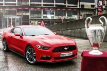 500 Ford Mustang revet væk på 30 sekunder