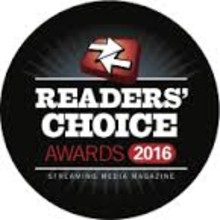 ​Xstream is nominated in 2 categories for the Streaming Media Readers Choice Award 2016