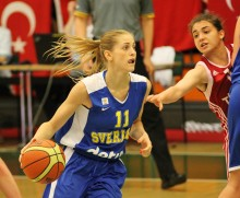 Sveriges damer i basket vann komfortabelt mot Mongoliet i Universiaden – i morgon väntar återigen Ryssland