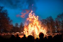Valborgsfirande i Folkparken
