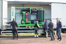 Fjärrvärmeanläggning tillverkar grön el