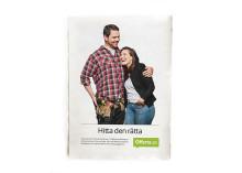 Offerta lanserar nytt reklamkoncept som för tankarna till dejting