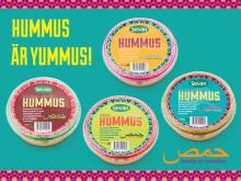 Sevan lanserar kyld Hummus i fyra smaker