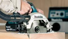 Makita lanserar kolborstfri 18V 165 mm cirkelsåg med AWS